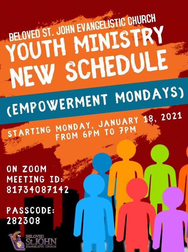 YOUTH MINISTRY EMPOWERMENT MONDAYS